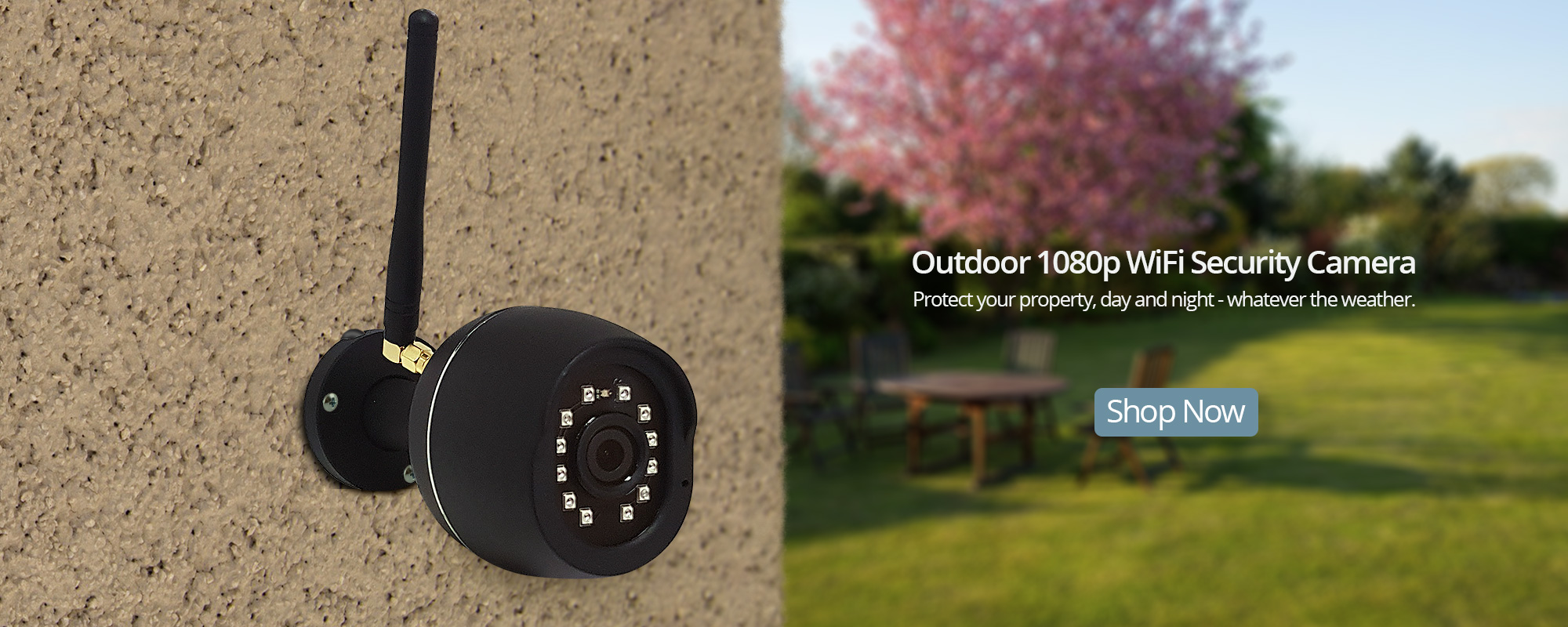 Outdoor WiFi 1080 Security Camera