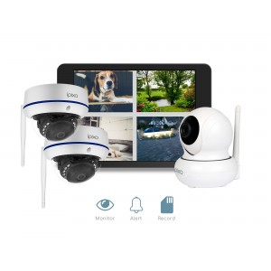 ipixo WiFi Home Security CCTV Camera System HD. Indoor and Outdoor IP Cameras.