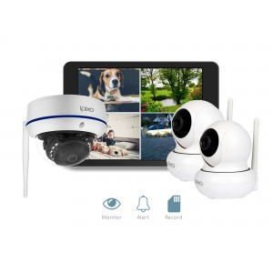 ipixo WiFi Home Security CCTV Camera System HD. Indoor and Outdoor IP Cameras