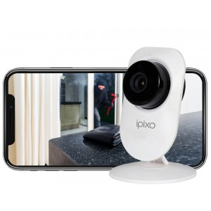 ipixo WiFi Indoor Home Security Camera