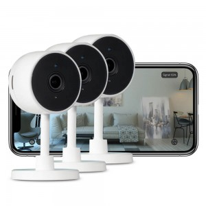 ipixo Indoor Full HD Wi-Fi Home Smart Security Camera (Pack of 3)