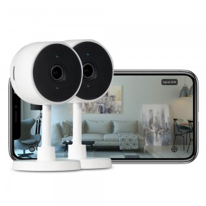 ipixo Indoor Full HD Wi-Fi Home Smart Security Camera (Pack of 2)