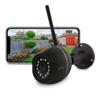 Ipixo Full HD Outdoor Fixed Wi-Fi Smart Security Camera